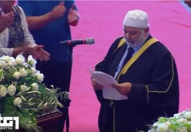 Imam Dachan. Il discorso ai funerali di Stato di Genova