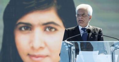 Il Presidente Sergio Mattarella in occasione della cerimonia di inaugurazione dell'anno scolastico 2015-2016